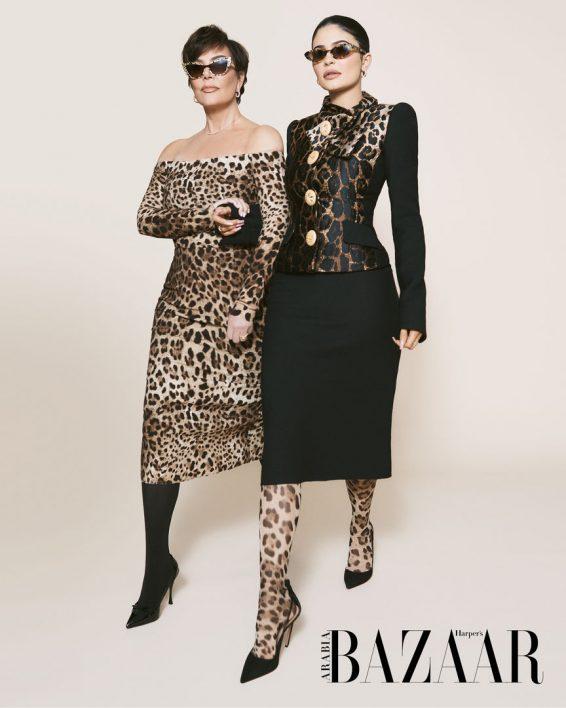 Kris Jenner and Kylie Jenner - Harper's Bazaar (Arabia July-August 2019 issue)