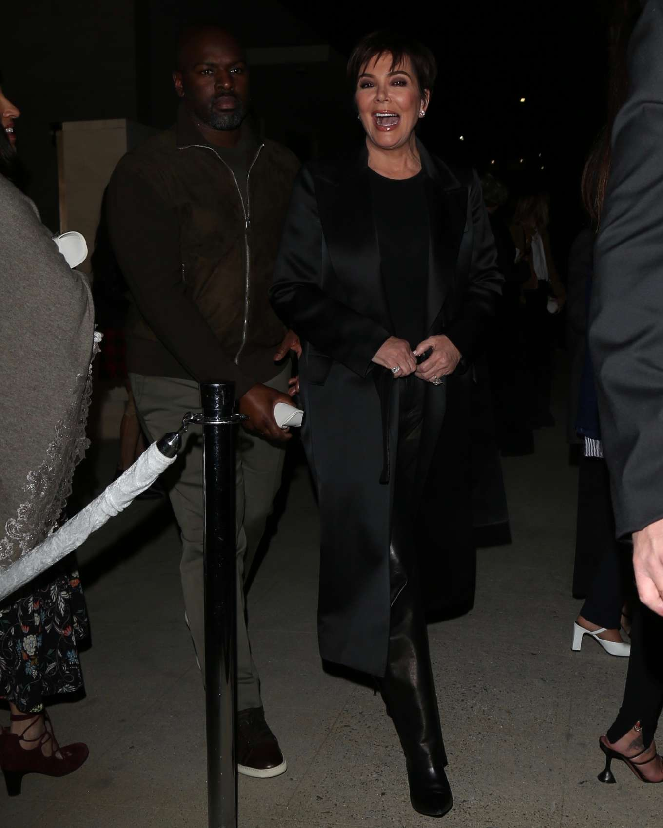 Kris Jenner 2020 : Kris Jenner arrives to Tom Ford Fashion show in Los Angeles-02