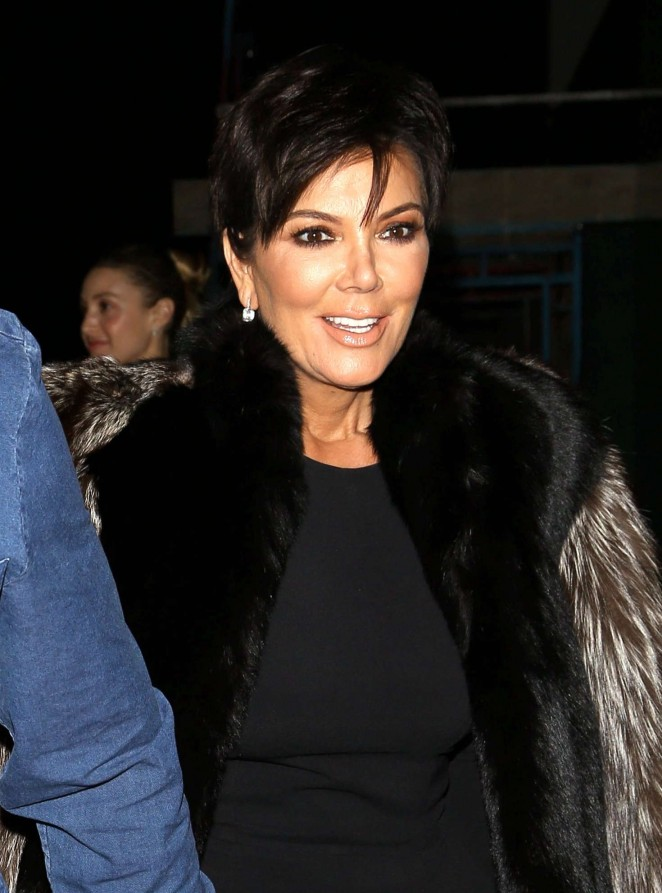 Kris Jenner at Salon Opening in Beverly Hills