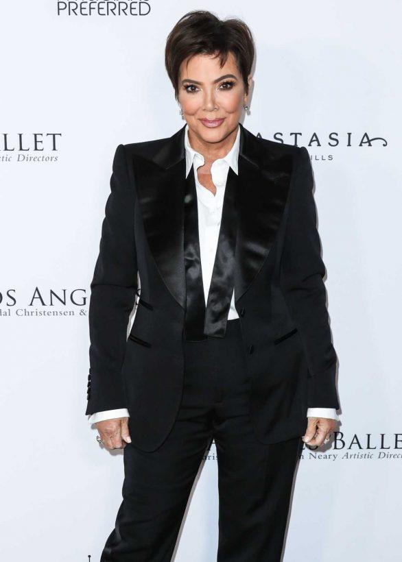 Kris Jenner - Los Angeles Ballet Gala 2020 in Santa Monica