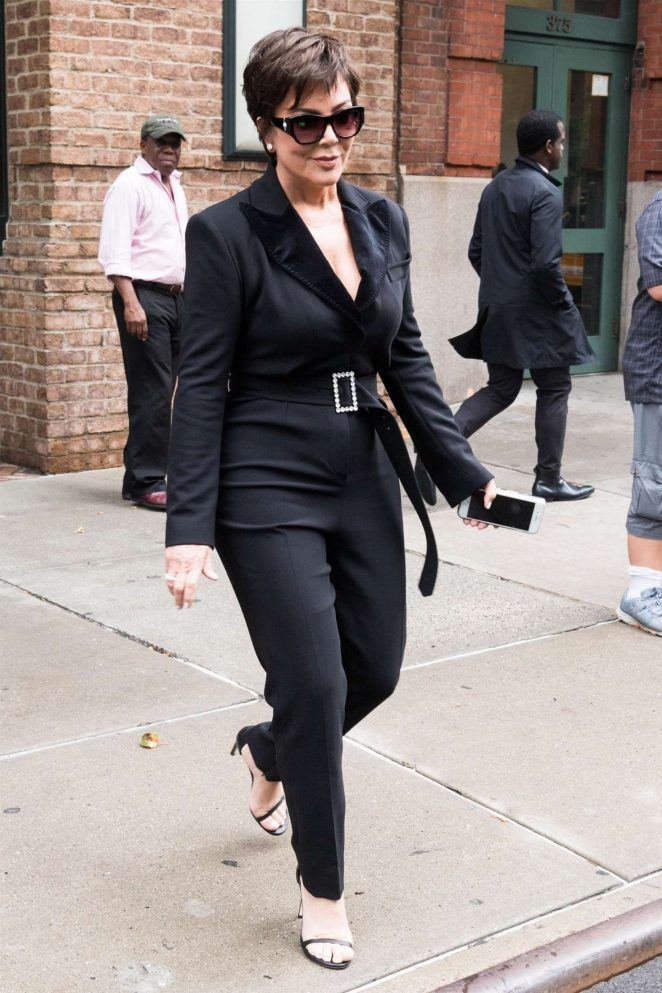 Kris Jenner - Out in New York