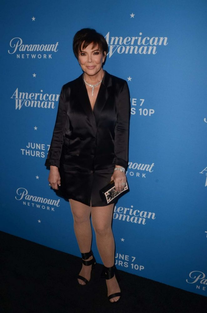 Kris Jenner – Photocall for American Woman Premiere Party In Los Angeles