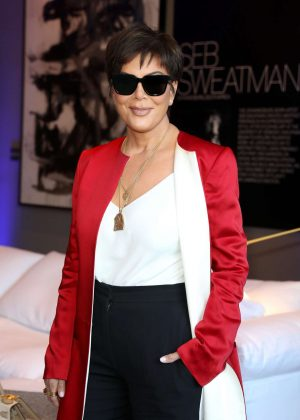 Kris Jenner - Restoration Hardware x General Public Launch in LA