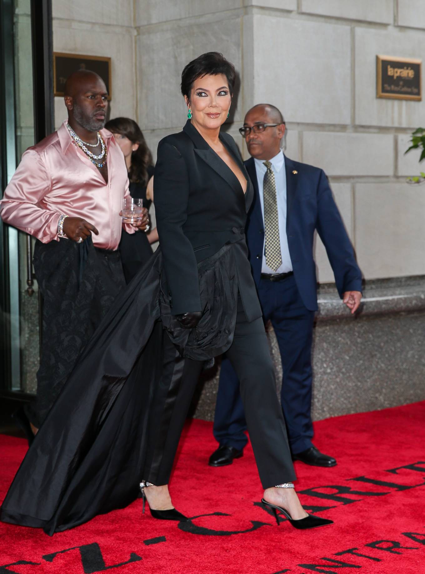 Kris Jenner - Spotted heading to The Met Gala in New York