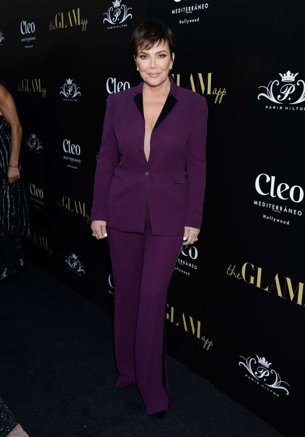 Kris Jenner - The Glam App Launch in Los Angeles
