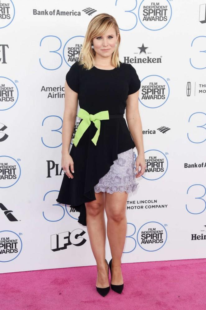 Kristen Bell - 2015 Film Independent Spirit Awards in Santa Monica