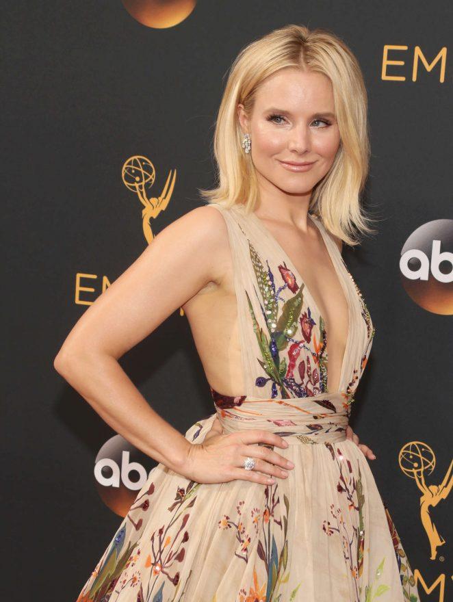 Kristen Bell - 2016 Emmy Awards in Los Angeles