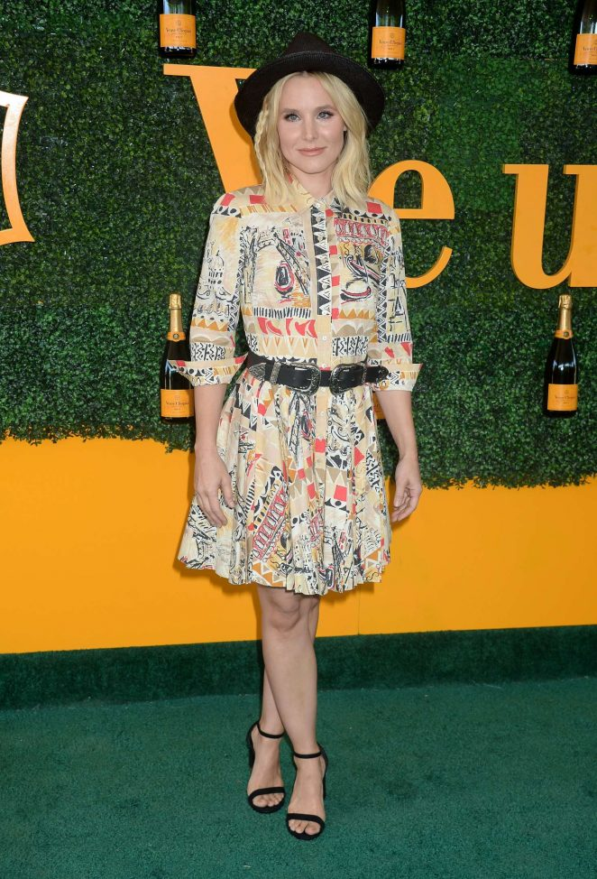 Kristen Bell - 2016 Veuve Clicquot Polo Classic in Pacific Palisades