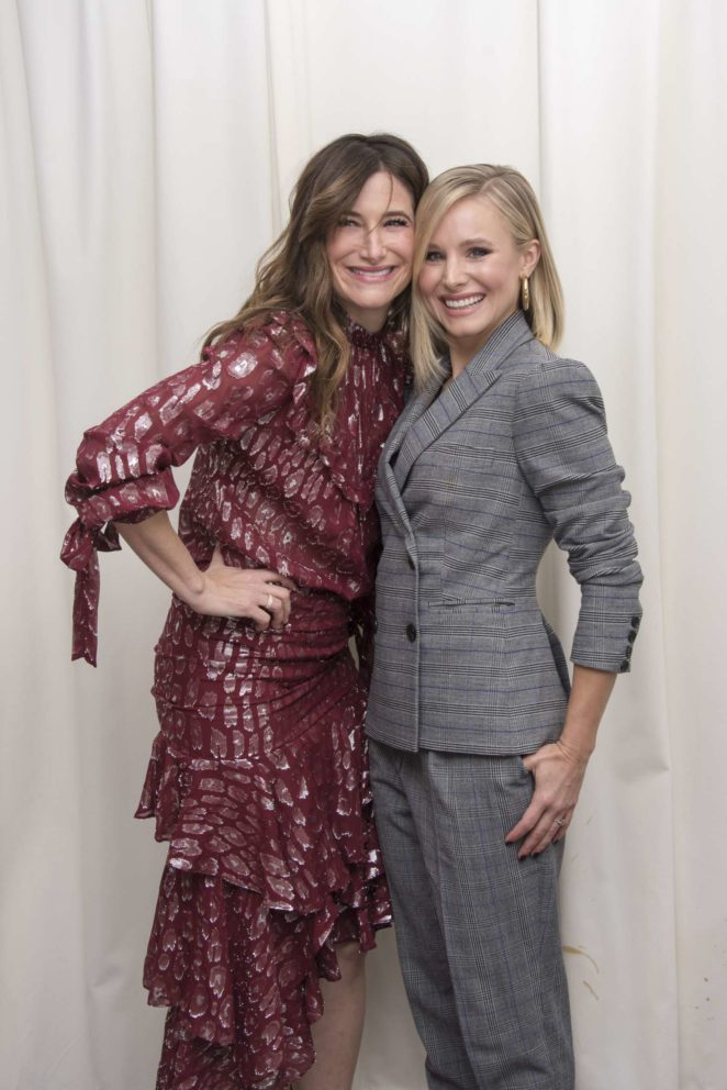 Kristen Bell: A Bad Moms Christmas Press Conference -02
