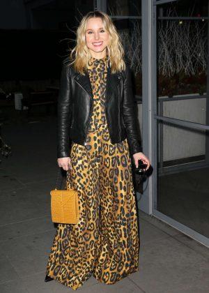Kristen Bell - Arrives at The Wilson in New York City