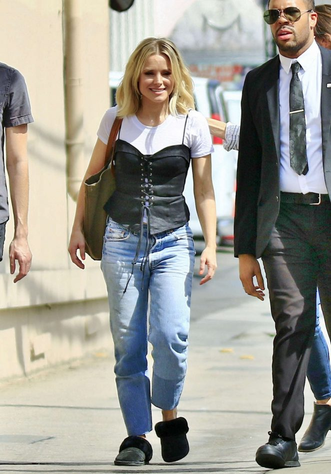 Kristen Bell – Arriving at Jimmy Kimmel Live! in LA