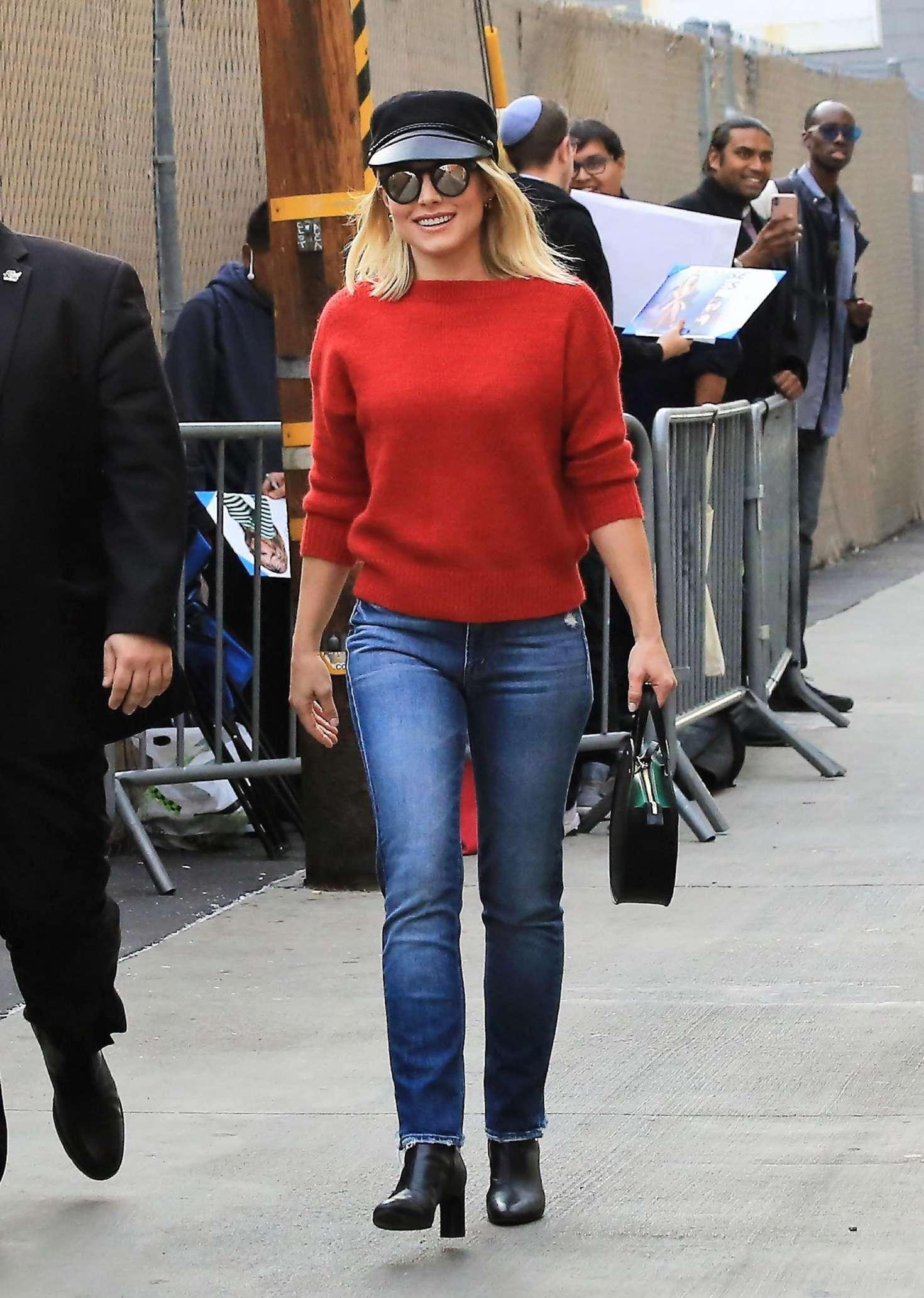 Kristen Bell 2018 : Kristen Bell: Arriving at Jimmy Kimmel Live -06
