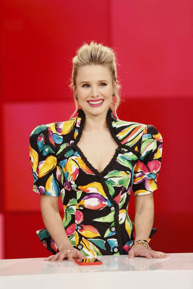 Kristen Bell at Jimmy Kimmel Live! in Los Angeles