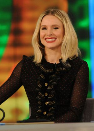 Kristen Bell at 'The View' TV show in New York