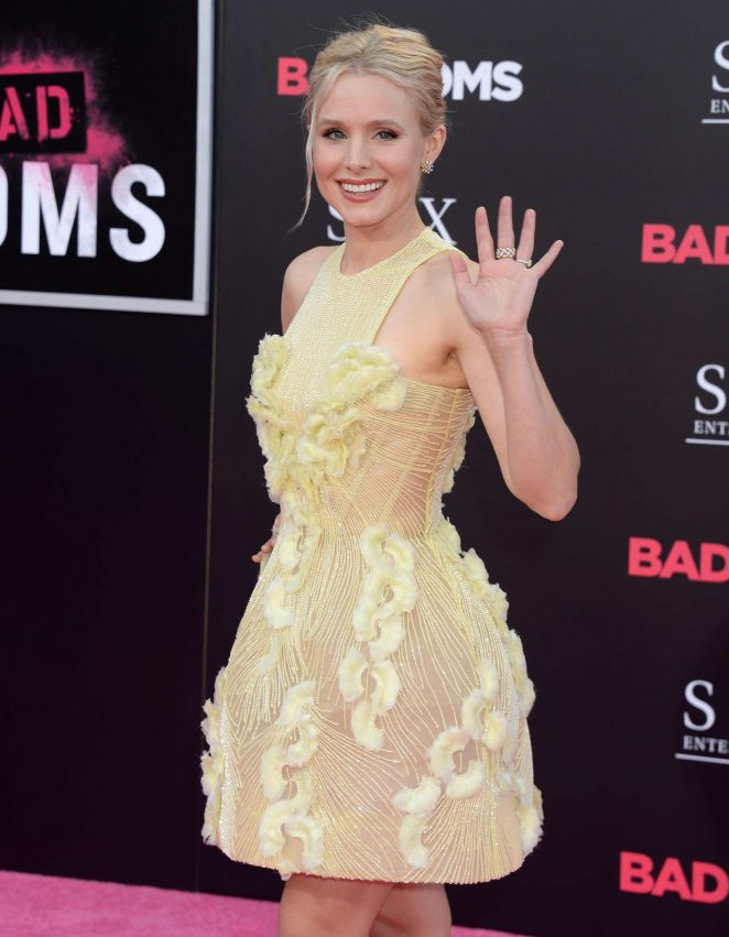 Kristen Bell - 'Bad Moms' Premiere in Los Angeles