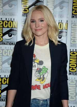 Kristen Bell - CBS Television Press Line at Comic-Con 2016 in San Diego