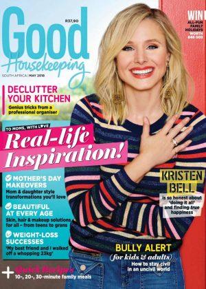 Kristen Bell - Good Housekeeping Magazine (May 2018)