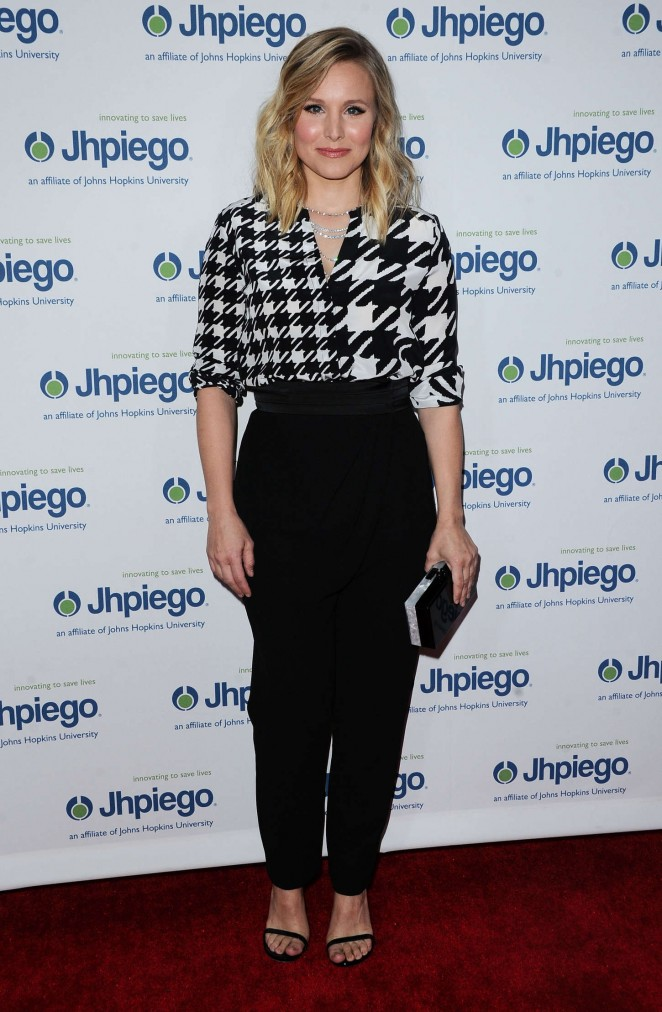 Kristen Bell - Jhpiego's Laughter is the Best Medicine Event in Beverly Hills