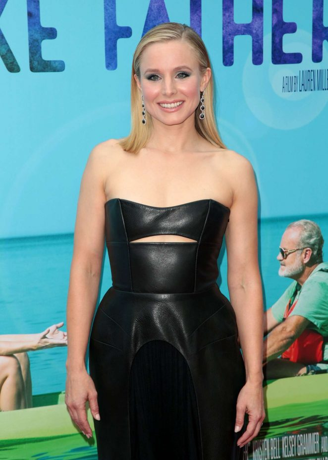 Kristen Bell - 'Like Father' Premiere in Los Angeles