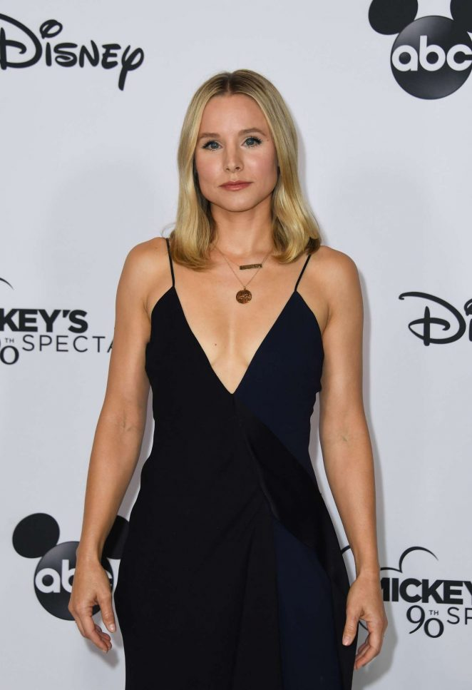 Kristen Bell - Mickey's 90th Spectacular in Los Angeles