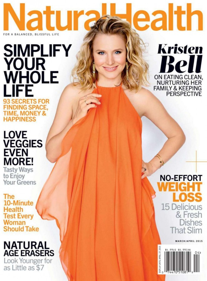 Kristen Bell - Natural Health Magazine (March/April 2015)