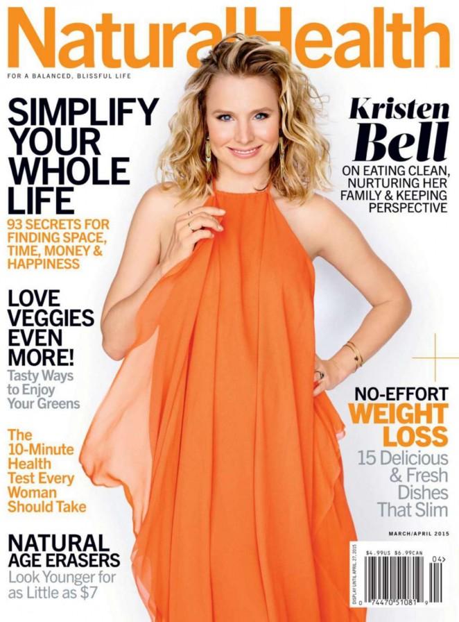 Kristen Bell – Natural Health Magazine (March/April 2015)