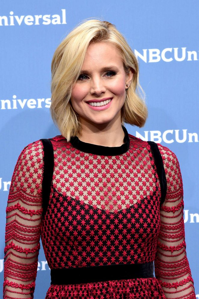 Kristen Bell - NBCUniversal Upfront Presentation 2016 in New York City