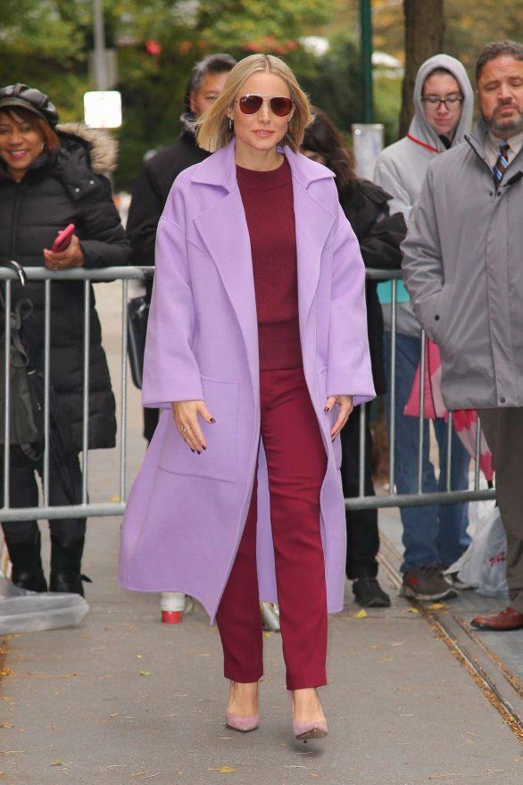 Kristen Bell 2019 : Kristen Bell – Promoting Frozen 2 in New York-01