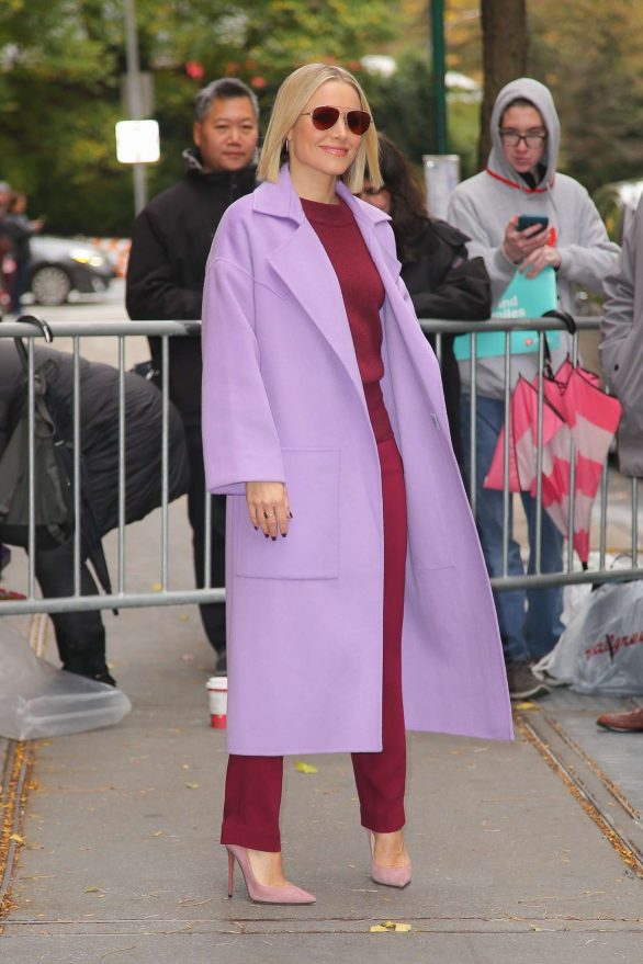 Kristen Bell 2019 : Kristen Bell – Promoting Frozen 2 in New York-02
