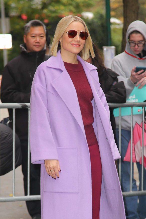 Kristen Bell - Promoting 'Frozen 2' in New York