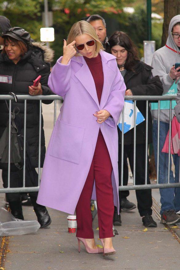 Kristen Bell 2019 : Kristen Bell – Promoting Frozen 2 in New York-15