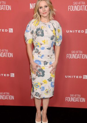 Kristen Bell - SAG-AFTRA Foundation's Patron of the Artists Awards in Beverly Hills