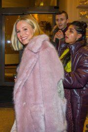 Kristen Bell - Spotted while leaves Hotel Kempinski in Wien