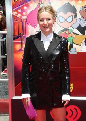Kristen Bell - 'Teen Titans Go! To The Movies' Premiere in Los Angeles