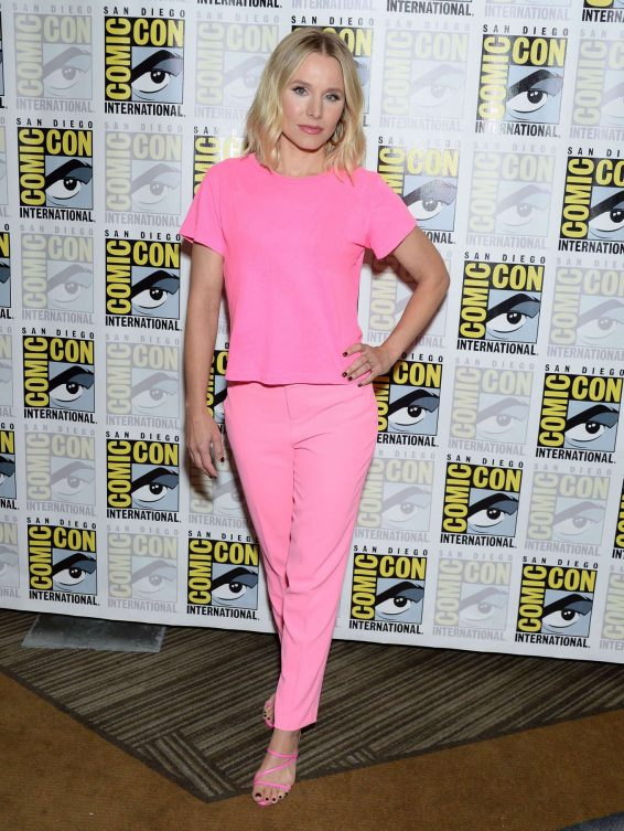 Kristen Bell 2019 : Kristen Bell – The Good Life Press Line at Comic Con San Diego 2019-05