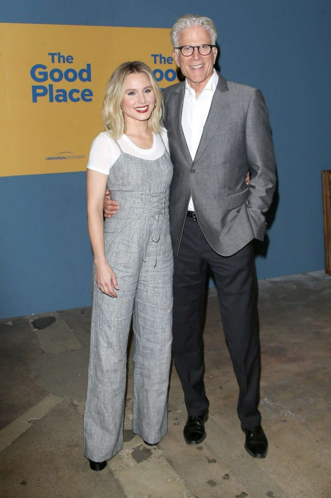 Kristen Bell: The Good Place FYC Event -04