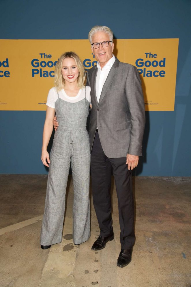 Kristen Bell: The Good Place FYC Event -09