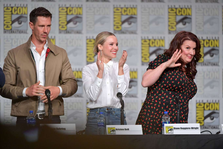 Kristen Bell 2019 : Kristen Bell – Veronica Mars Panel at Comic Con San Diego 2019-05