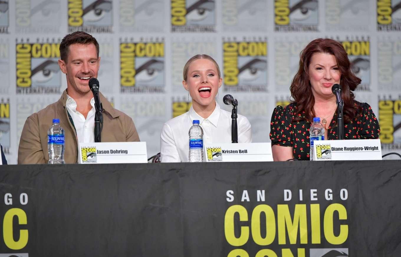 Kristen Bell 2019 : Kristen Bell – Veronica Mars Panel at Comic Con San Diego 2019-07