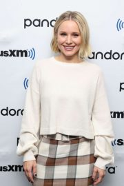 Kristen Bell - Visits SiriusXM's Town Hall at SiriusXM Studios in NY