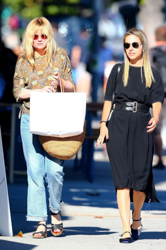 Kristen Dunst – Shopping with a friend in West Hollywood-10