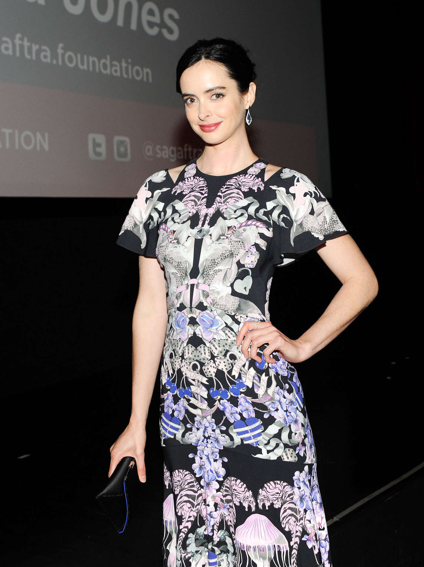 Kristen Ritter - SAG-AFTRA In Conversation With 'Jessica Jones' in NYC