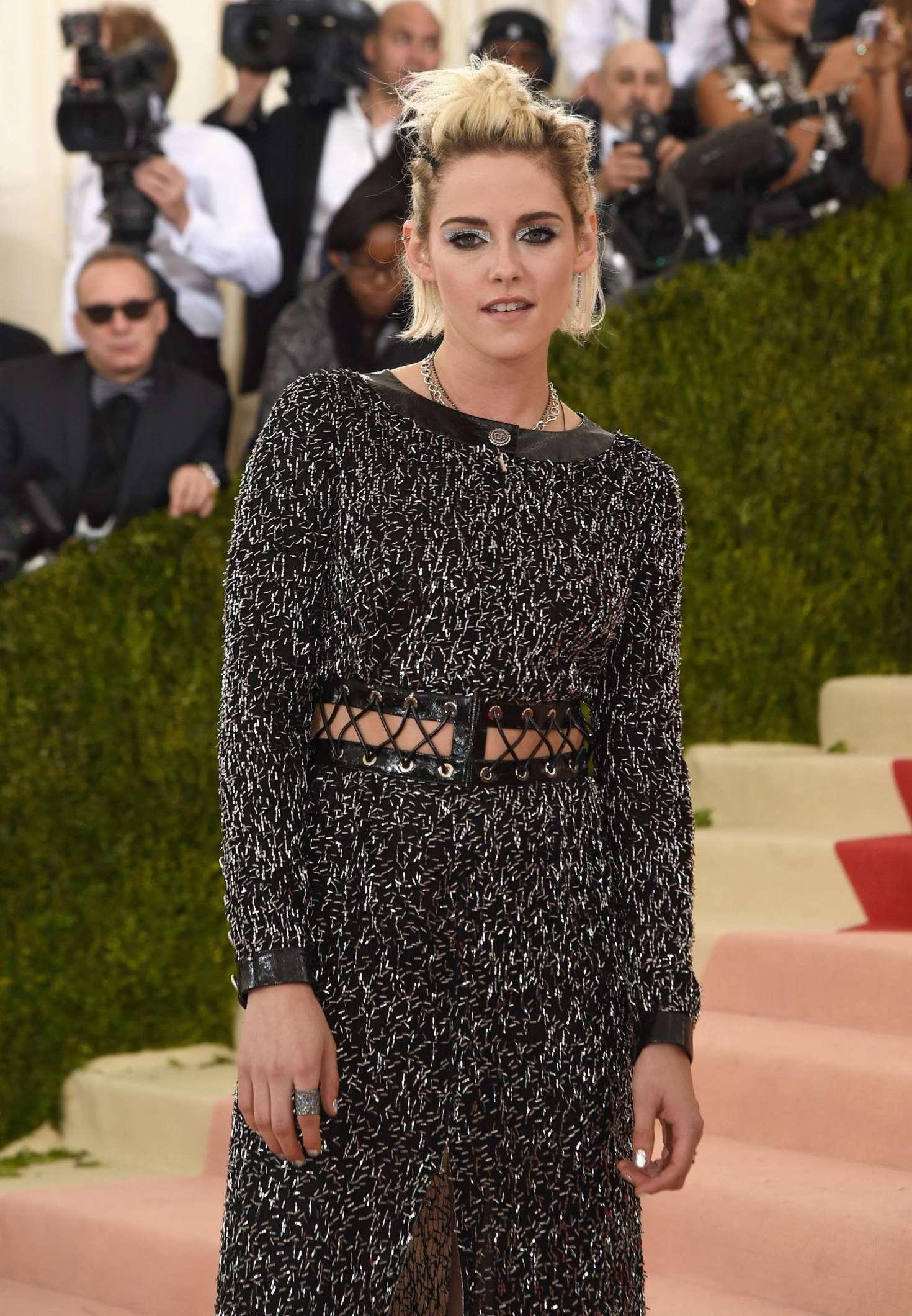 Kristen Stewart - 2016 Met Gala in NYC