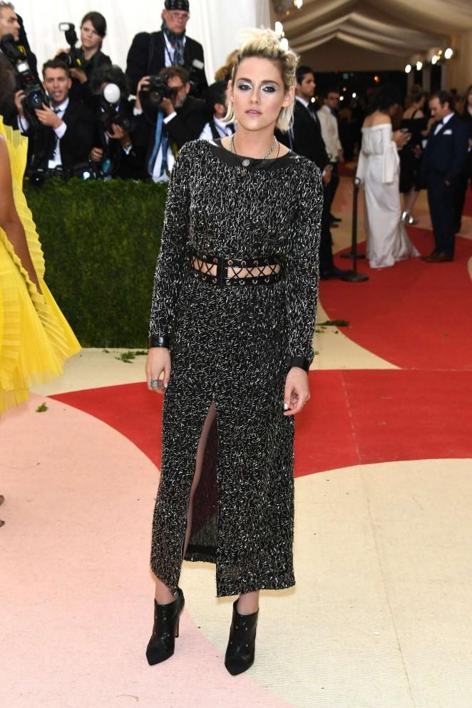 Kristen Stewart: 2016 Met Gala in NYC -09