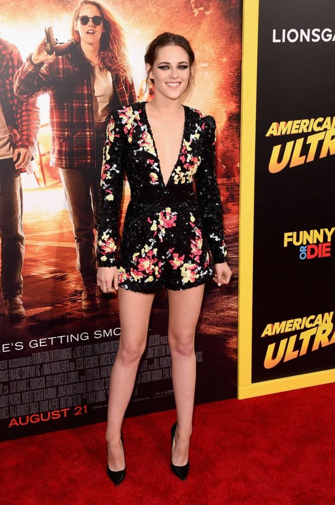 Kristen Stewart - 'American Ultra' Premiere in LA