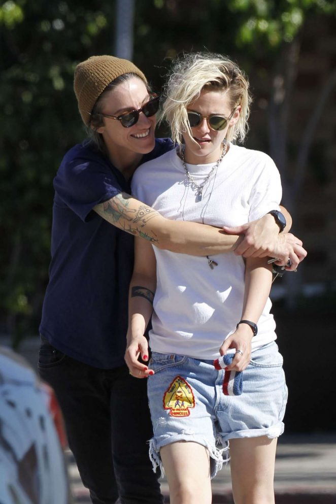 Kristen Stewart and Alicia Cargile out in LA