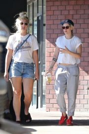 Kristen Stewart and Dylan Meyer - Go to a Karate class in Los Angeles