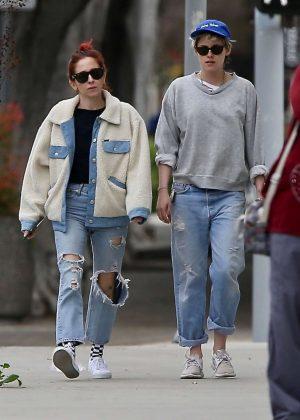 Kristen Stewart and girlfriend Sara Dinkin - Out in Los Angeles