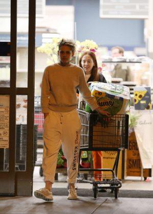 Kristen Stewart and girlfriend Sara Dinkin - Shopping in Los Feliz