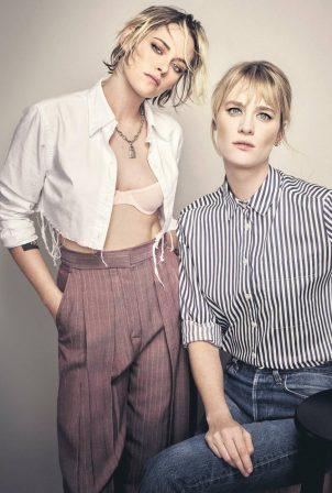 Kristen Stewart and Mackenzie Davis - The Guardian magazine